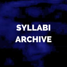 syllabi archive